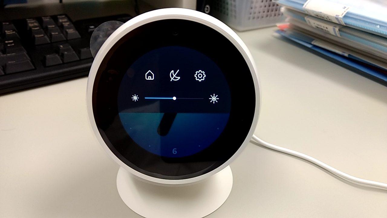 Amazon「Echo Spot」のアカウントをリセットして初期化する方法
