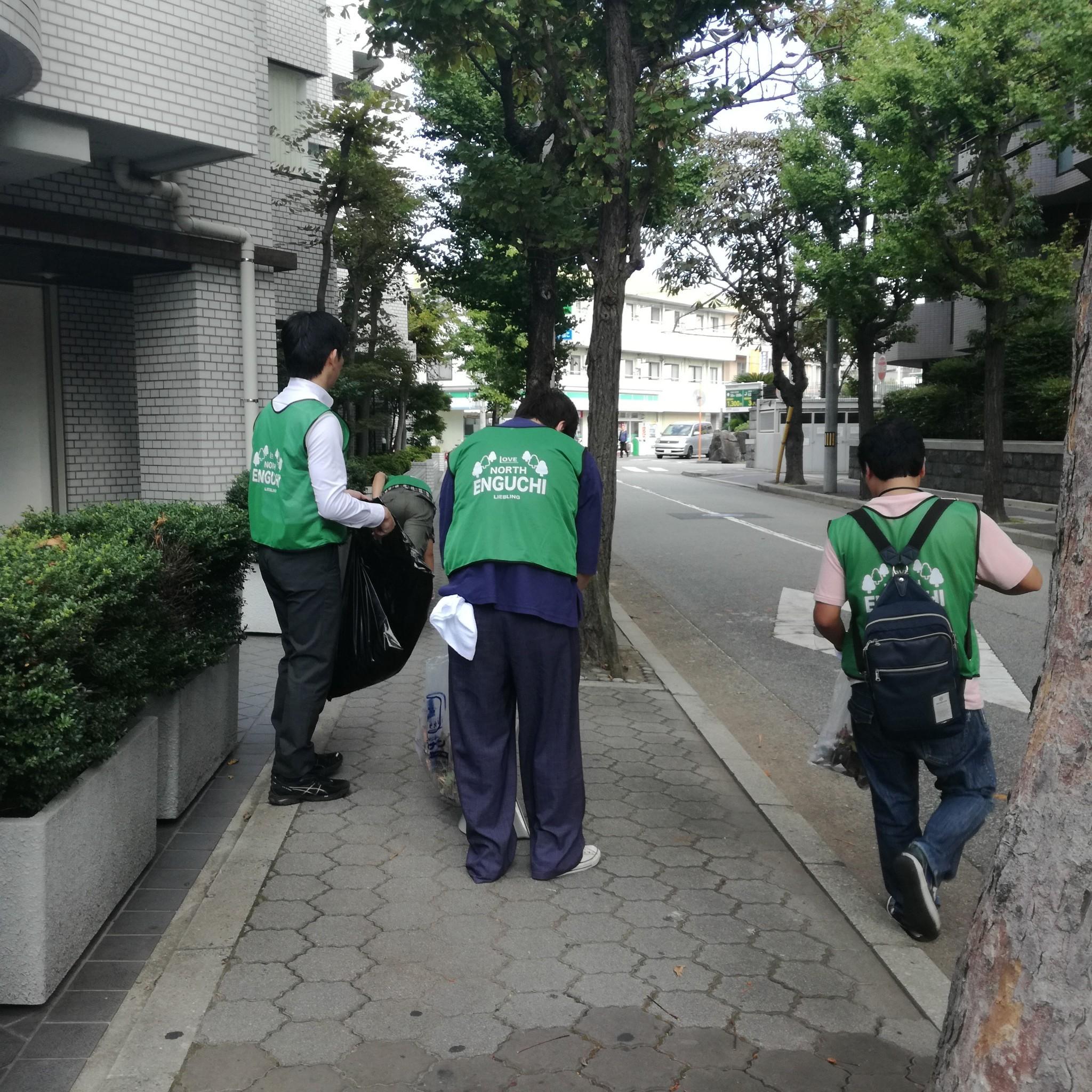 甲子園口北リープリング|JR甲子園口駅周辺の清掃活動に参加(3回目)